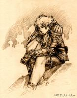 Tidus - Quiet Thoughts by nachtwulf