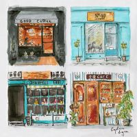 (16.10.30)Cafe fronts by CaptainTigra