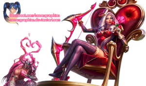 Heartseeker Ashe RENDER by SonasGraphics