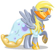 Pixel Perfect Derpy by RockingScorpion