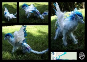 Sierra - OOAK Handmade Dragon Poseable by SonsationalCreations