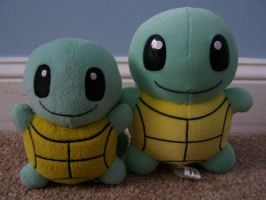 Squirtle Pokedolls by Fishlover