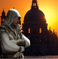 Ezio Auditore In Venezia by KelsiJGD