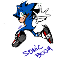 Sonic Boom by wallacexteam