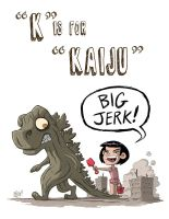 K Is For Kaiju by OtisFrampton
