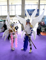 Angemon y Angewomon Cosplay by LeydaCosplay