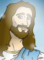 Jesus Christ by Mammal33