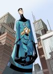 Mr. Fantastic and Sue Richards by MechaBennett