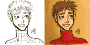 Peter Parker - The Amazing Spider-man by Kozekito
