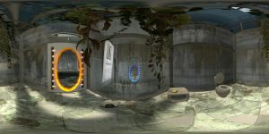Portal2 Room-00 Pano360x180 by stefmixo