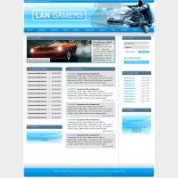 Lan Gamers - Webdesign by Noergaard