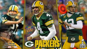 Green Bay Packers Wallpaper Attempt by randyadr