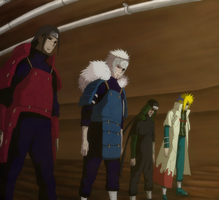 Edo Hokages by theSheepNinja