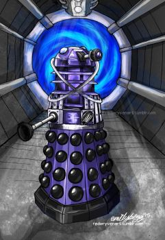 The Dalek Time Controller of Big Finish by RedWryvenArt