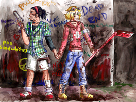 APH: Gay Zombie Killers by Tacotits