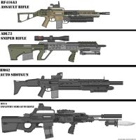 Military Weapon variants JPG 1 by Marksman104
