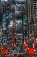 NYC from a TourBus by likwidoxigen