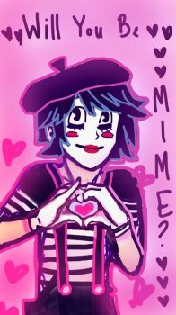 Mime Valentine by Pilly-Pat