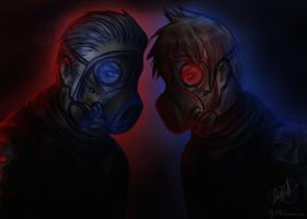 [APH] Gas-masks by patty110692