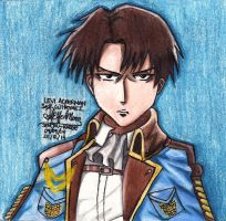 Levi Ackerman Special Outfit by ValElfenMoon