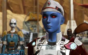 SWTOR Tatooine - Imperial Operative Milana'lowry by chicksaw2002