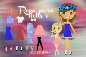 Ropa para dolls 1 by PiTuFiNa7