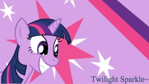 Twilight Sparkle Wallpaper by ChillyBilly4