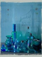 kReEsTaL ID X_____blue bottles by kReEsTaL