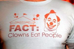 Fact: Clowns eat people by ObscuraVista