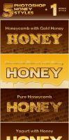Honey Photoshop Styles by survivorcz