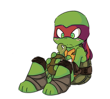 Turtle love by DiachanX