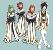 Lelouch and His Empresses by Lolli-Chan