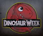 Dinosaur Week Logo by wibblethefish