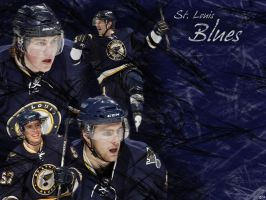 St. Louis Blues wallpaper by JaimeLouise