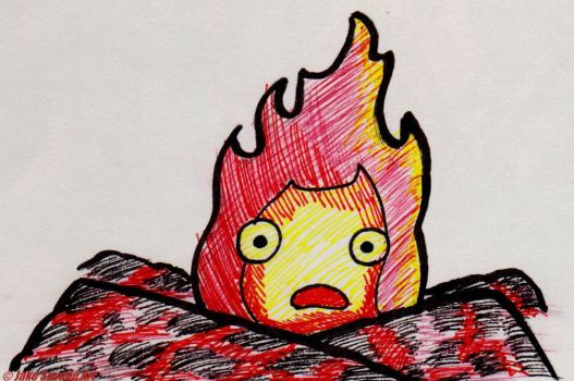 Calcifer by Fires-storm