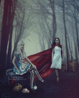 Alice-And-Red-Riding-Hood Contest Entry by areemus