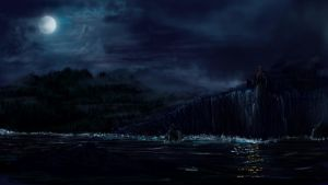 Beowulf Coastline Landscape by Andreagoh
