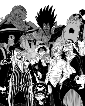 GANGSTER SQUAD | ONE PIECE by suprhiro