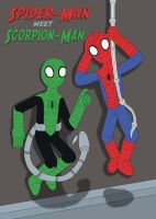 Spider-Man meet Scorpion-Man by MCsaurus