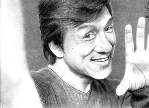 B+W Commission - Jackie Chan by nitefise