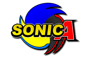 Sonic A - The Logo by Adam-Novagen