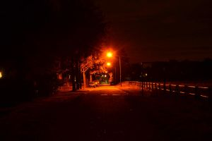 Lonely street by SpoonH
