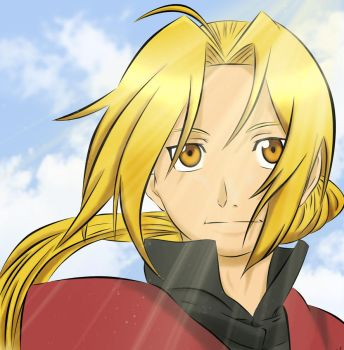 Edward Elric- Age 18 Colour by anjelleshadow