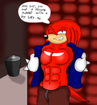 the Knuckles's secret yeah by valentinfrench