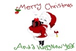 Merry Christmas And A Happy New Year by EmoCatT3T
