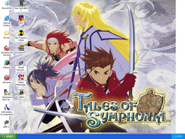 Tales of Symphonia Background by genex