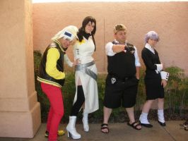 Soul eater cosplay group by SparksMcGhee