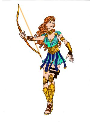 Artemis - Goddess of the Hunt!
