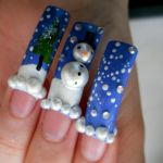 Winter Wonder Nails by OkBear
