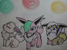 Prime elements in a teenage eevee by NinjaTurtleGirl